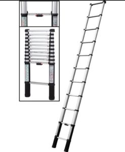 ALUMINIUM TELESCOPIC LADDER 2.6M