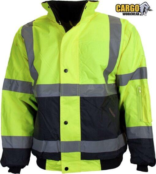 CARGO Hi-Vis Two Tone Parka Jacket