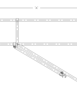 INSTANT UPRIGHT Guardrail Bracing Frame
