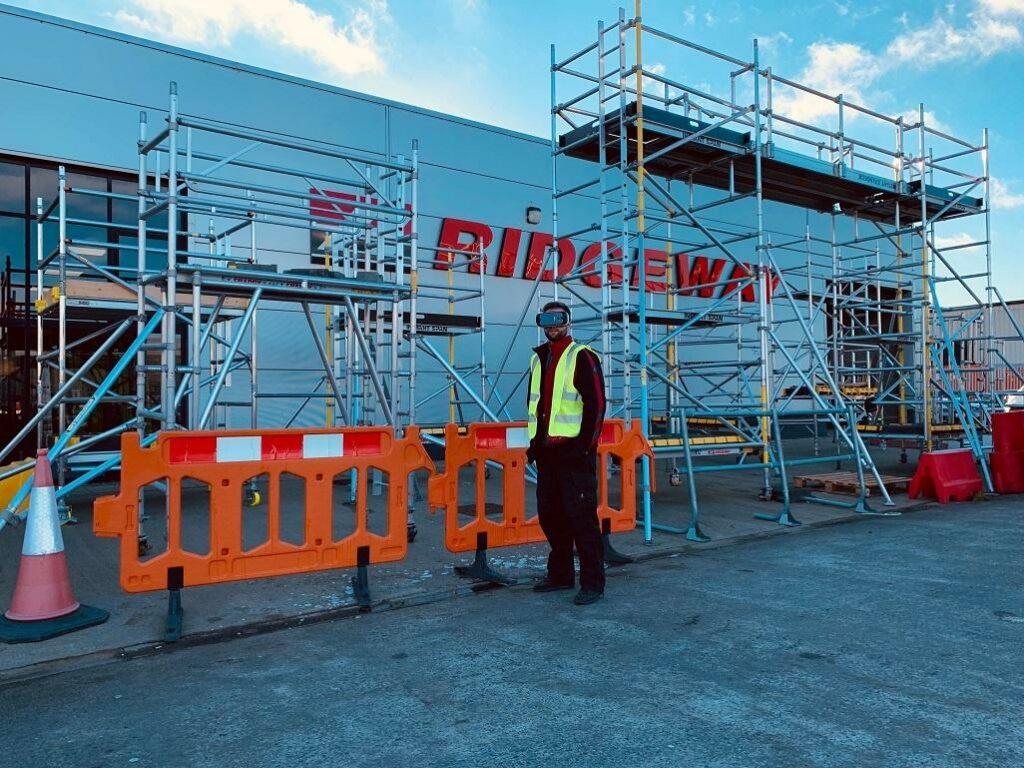 V hire at Ridgeway