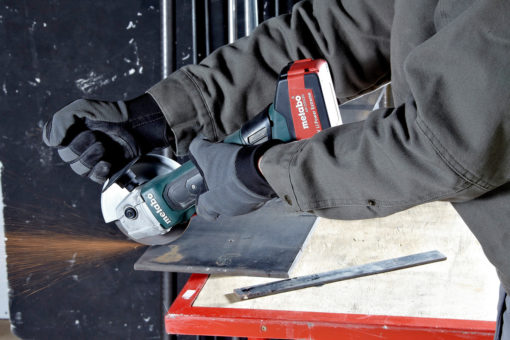 Metabo W 18 LTX 125 Quick Cordless Angle Grinder