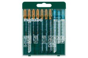 """Metabo Jigsaw Blade Assortment """"SP"""" 10 Pieces"""