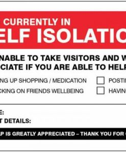 Self Isolation 1